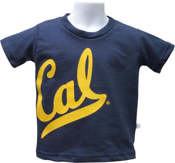University of California Berkeley Toddler Oversized Logo Tee Cal Logo