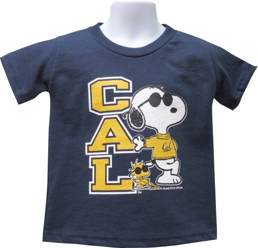 University of California Berkeley Youth Tee Snoopy Lean
