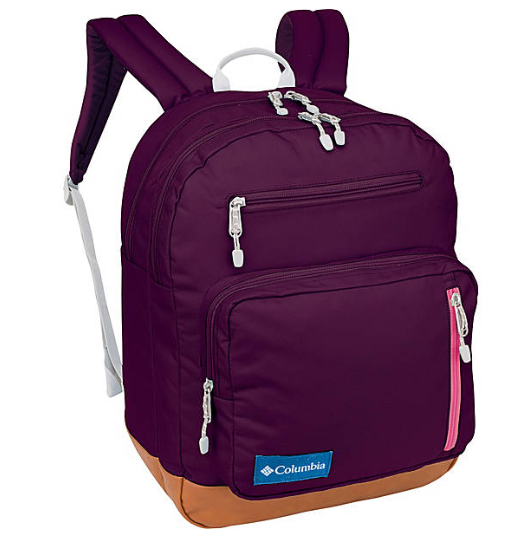 Columbia Northern Pass Day Pack - Dark Raspberry