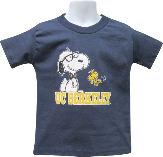 University of California Berkeley Youth Tee Snoopy Nerd
