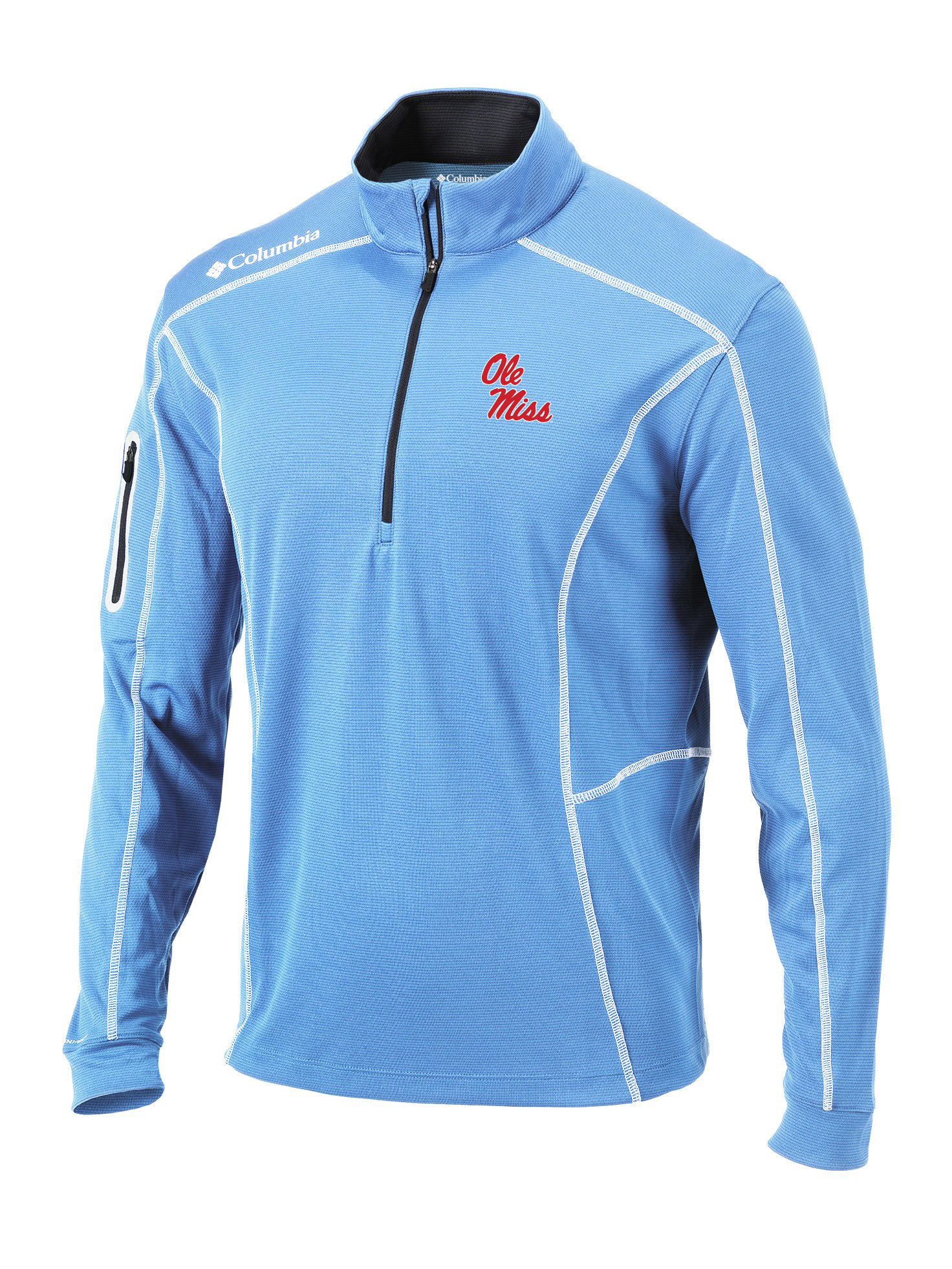 Columbia Golf Omni-Wick Shotgun 1/4 Zip Pullover