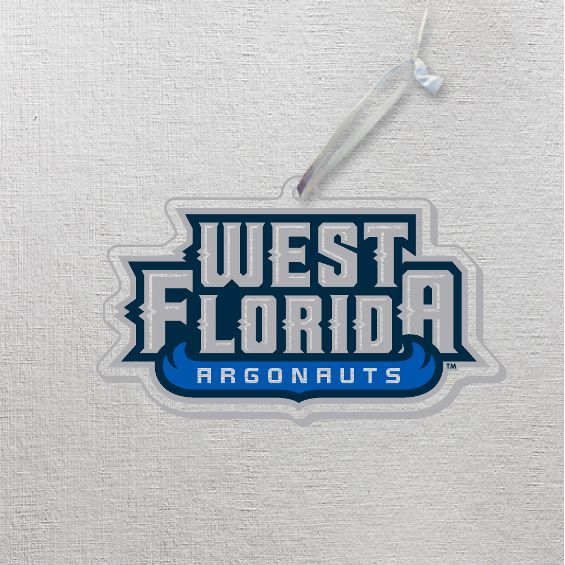 TRANSPARENT WEST FLORIDA ARGONAUTS ORNAMENTS