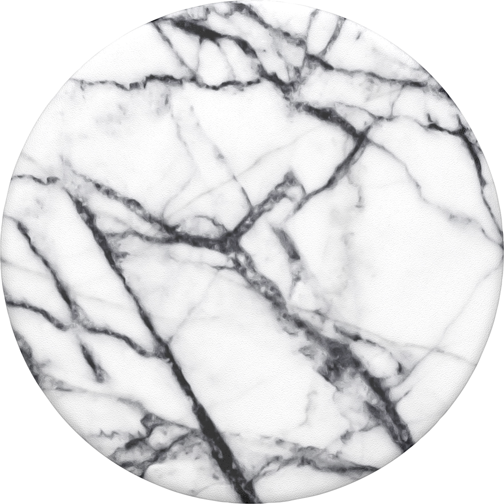 PopSockets Marble Swappable PopGrip - Pattern BP Dove White