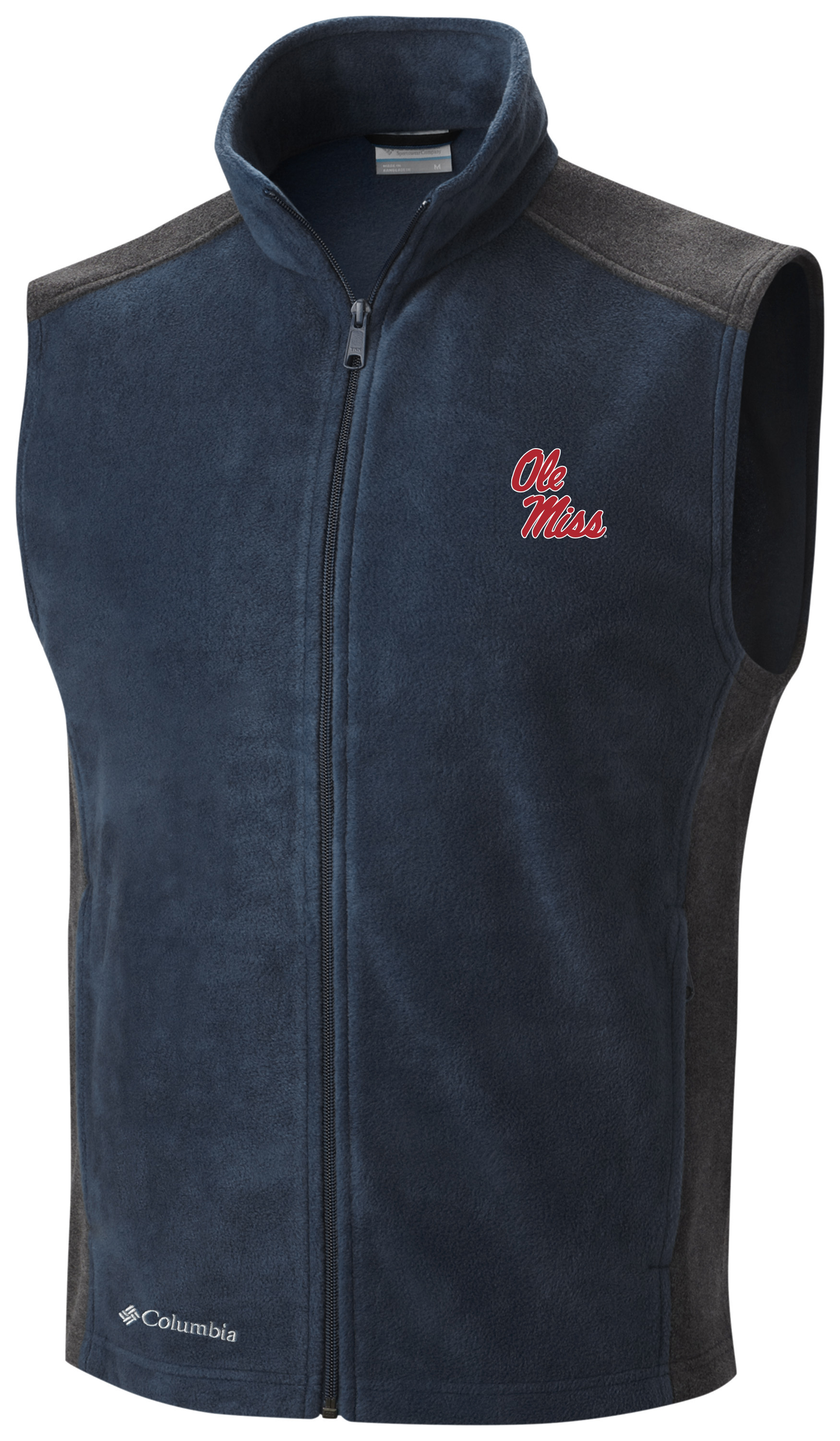 Columbia Men's Flanker Colorblocked Fleece Vest