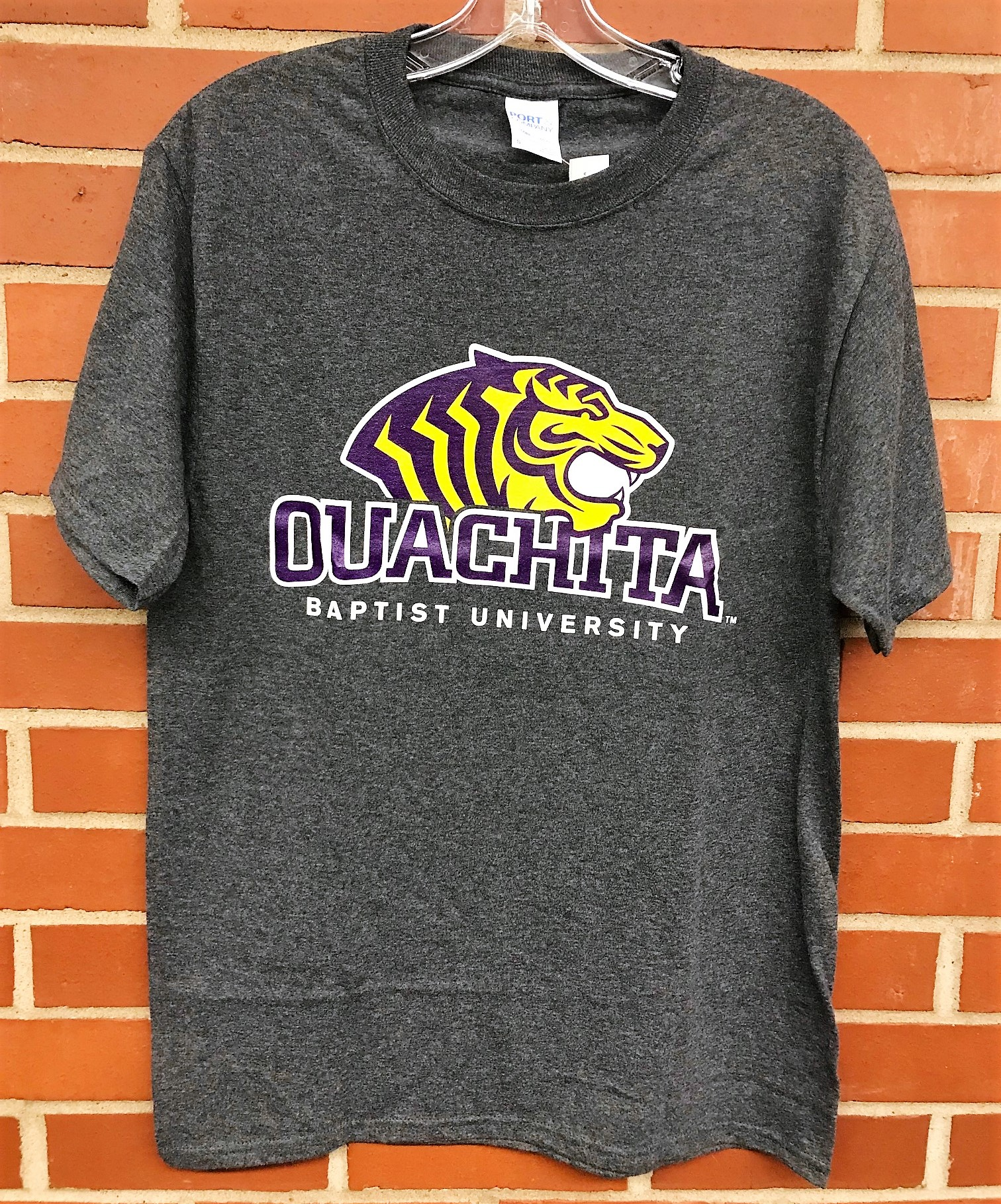OUACHITA BAPTIST UNIVERSITY W/ TIGER LOGO SS TEE