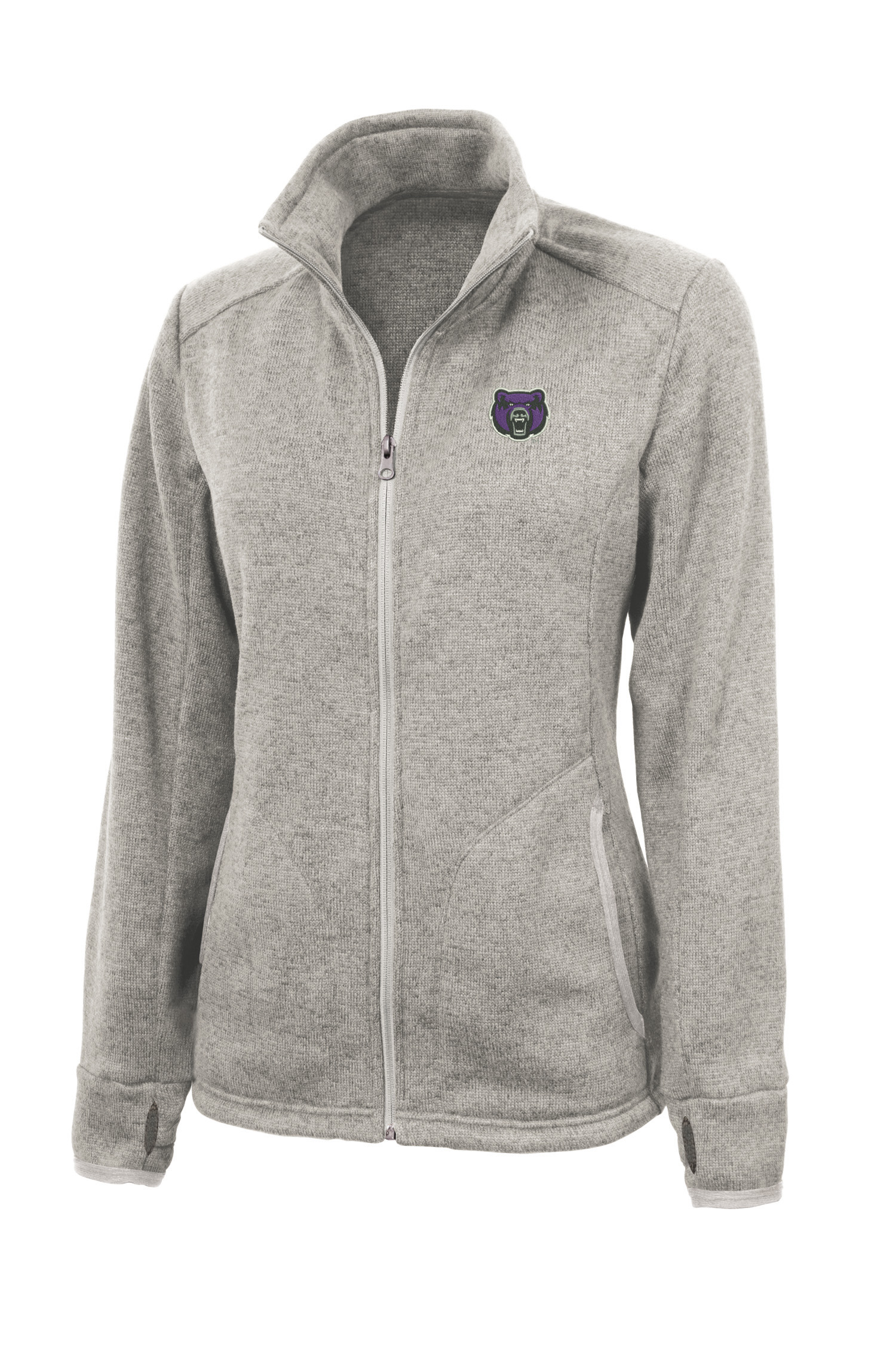 Women's Heathered Fleece Jacket