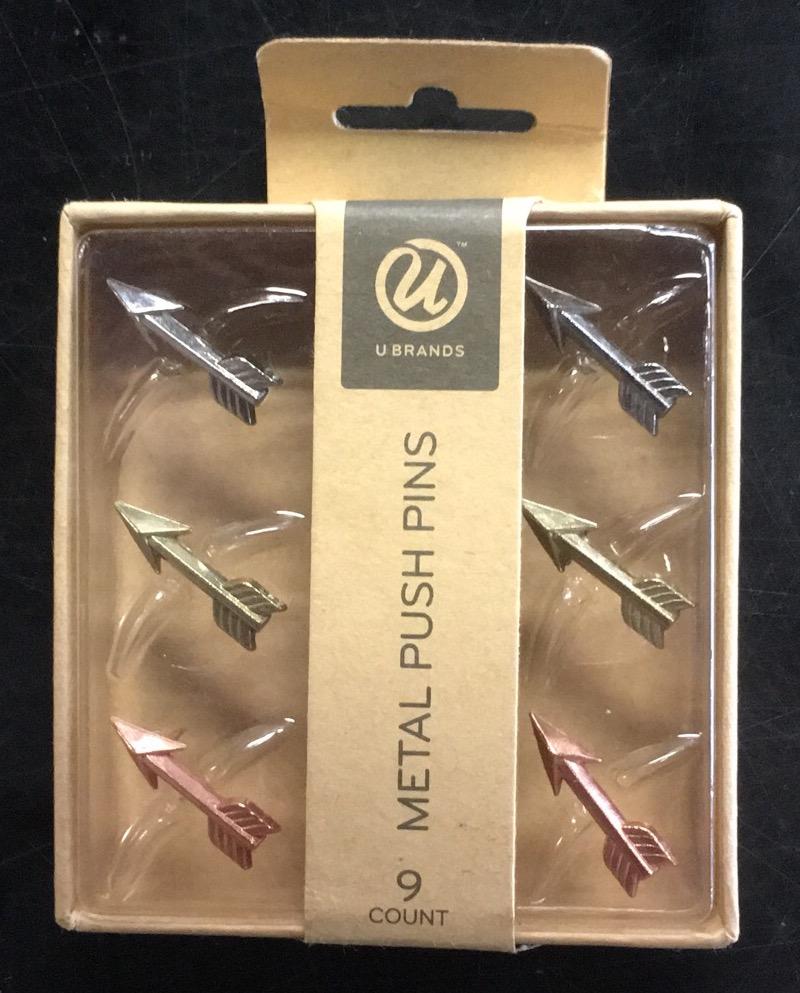 Metal Push Pins