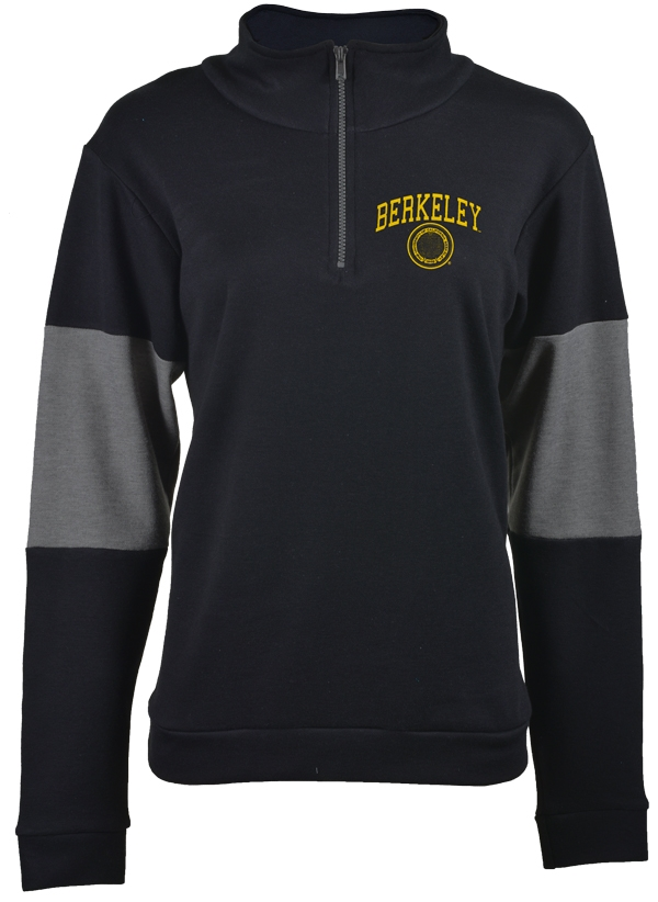 University of California Berkeley U-Trau Women Half zip Carefree Colorblock