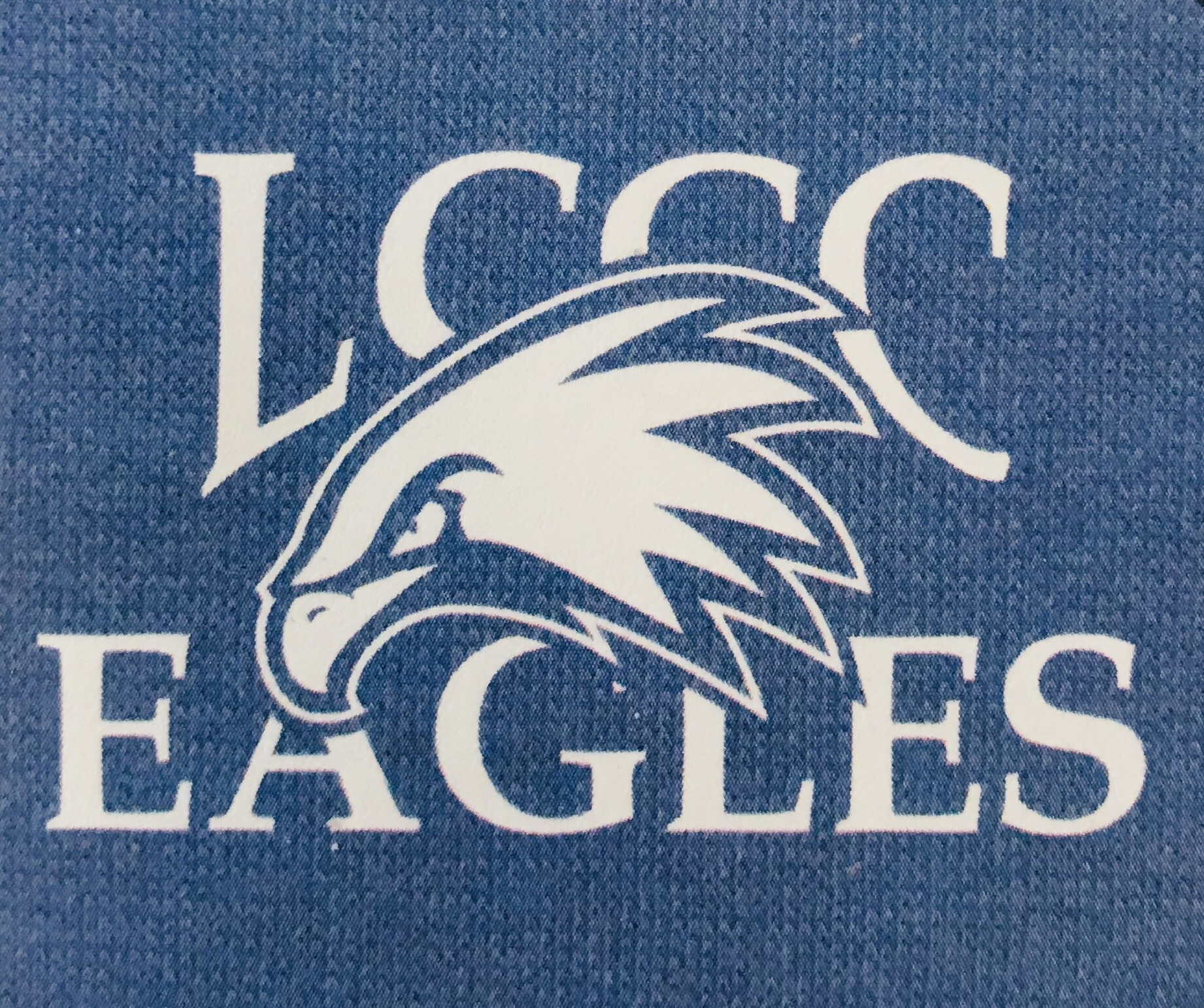 LCCC Eagles Sweatshirt Blanket