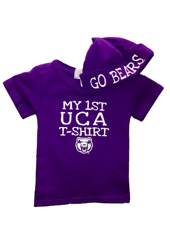 My First UCA Tee and Hat