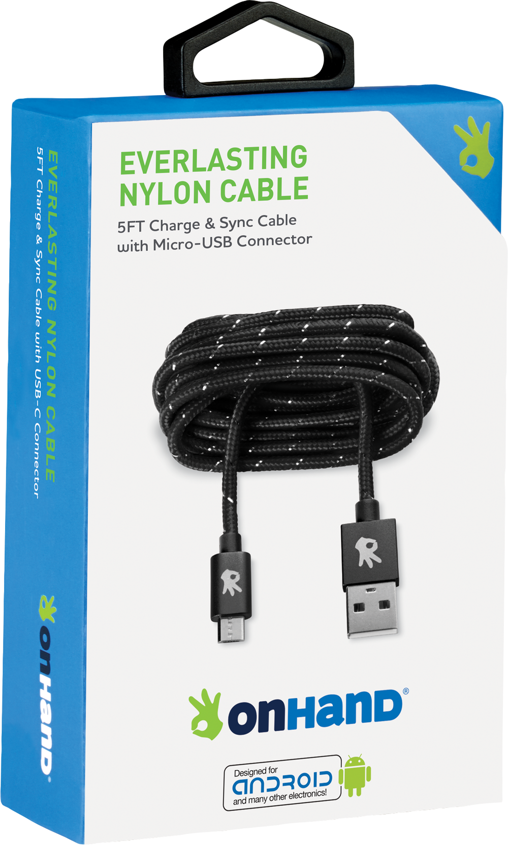 Micro-USB Everlasting Nylon Charging Cable