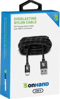 USB C Everlasting Nylon Charging Cable