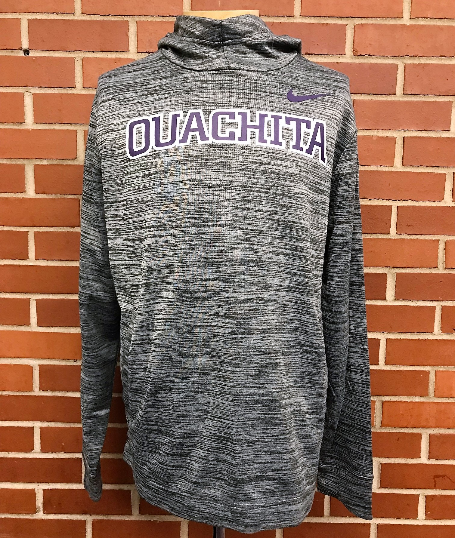 OUACHITA PRACTICE FLEECE HOODY