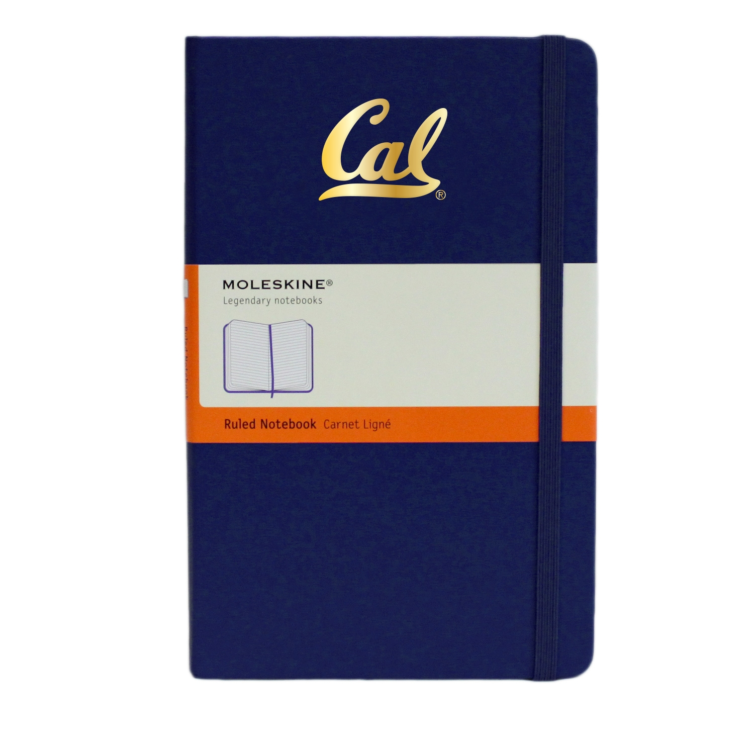 University of California Berkeley Moleskine Large Ruled Notebook Cal Logo