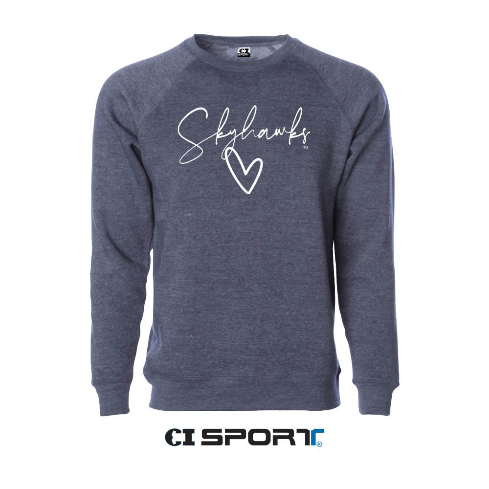 Lightweight Skyhawks Crewneck Sweatshirt