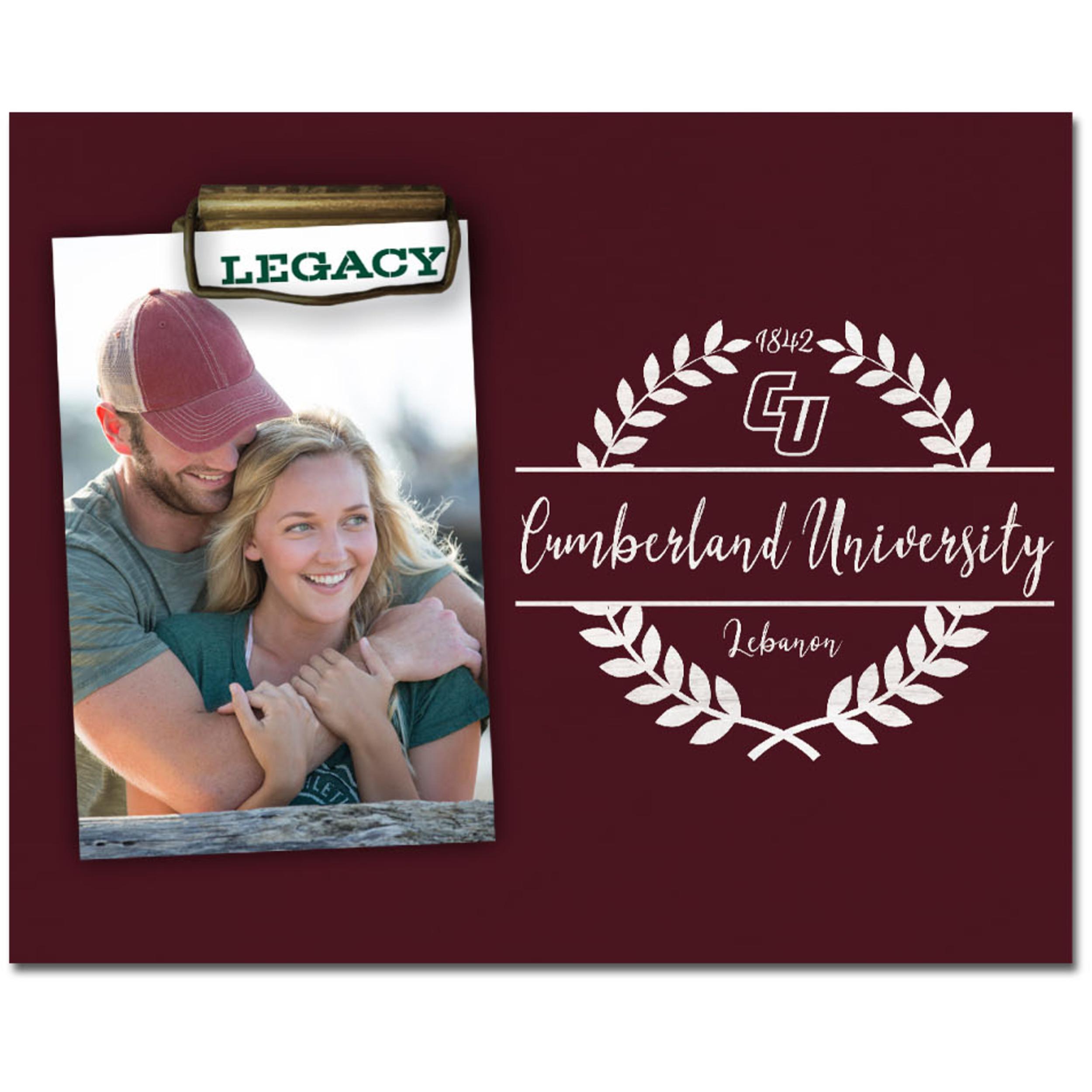 """Cumberland University Momento Photo Holder 8""""x10"""""""