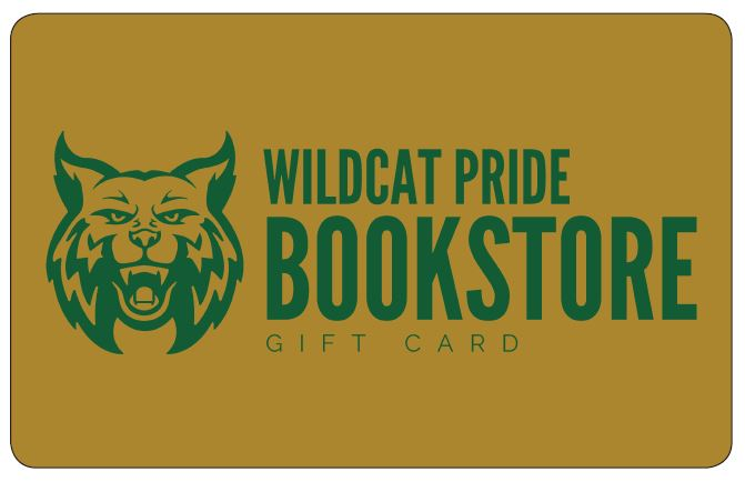 Wildcat Pride Bookstore Gift Card
