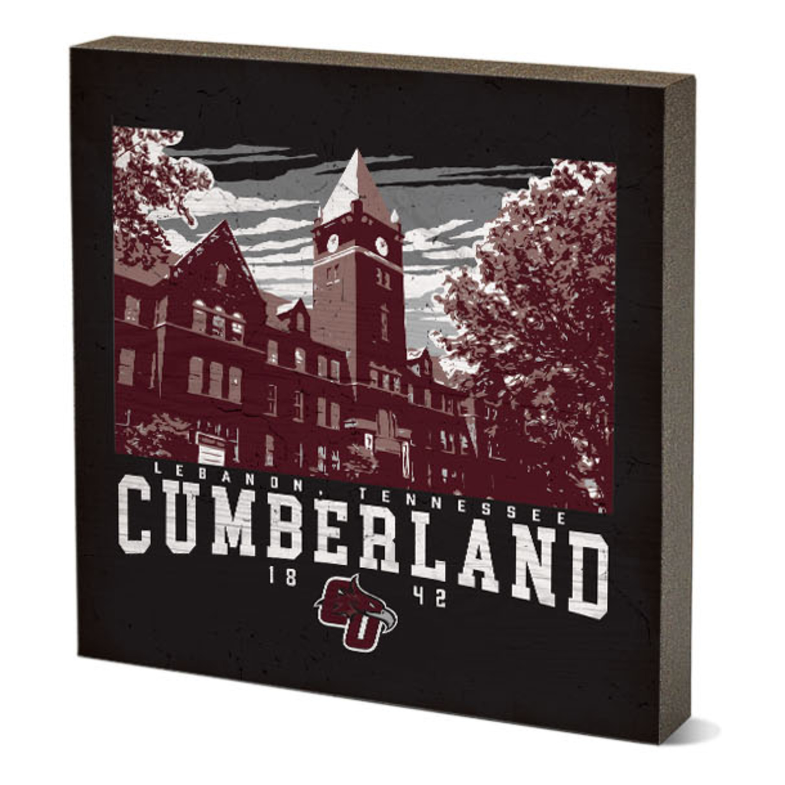 """Cumberland Campus Poster Table Top Square 5.5"""" x 5.5"""""""