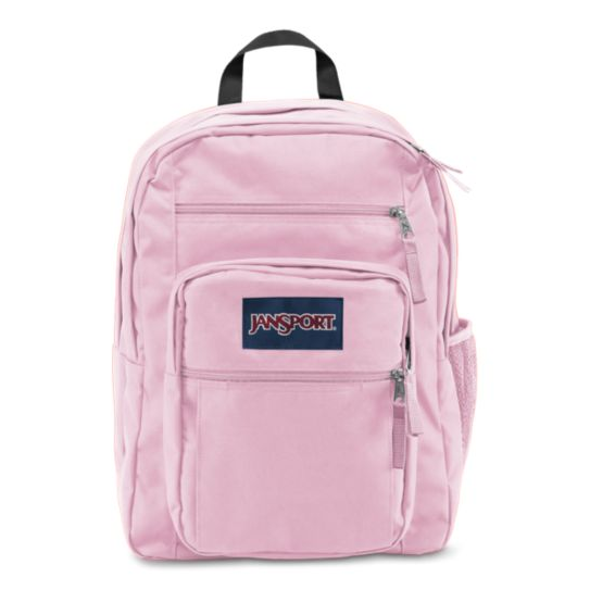 BIG STUDENT BACKPACK-PINK MIST