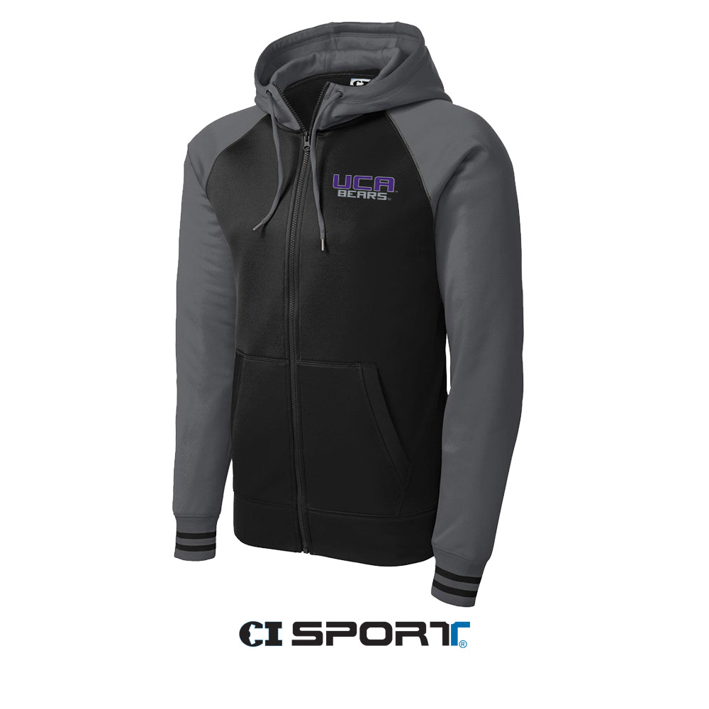 Ladies Varsity Fleece Jacket