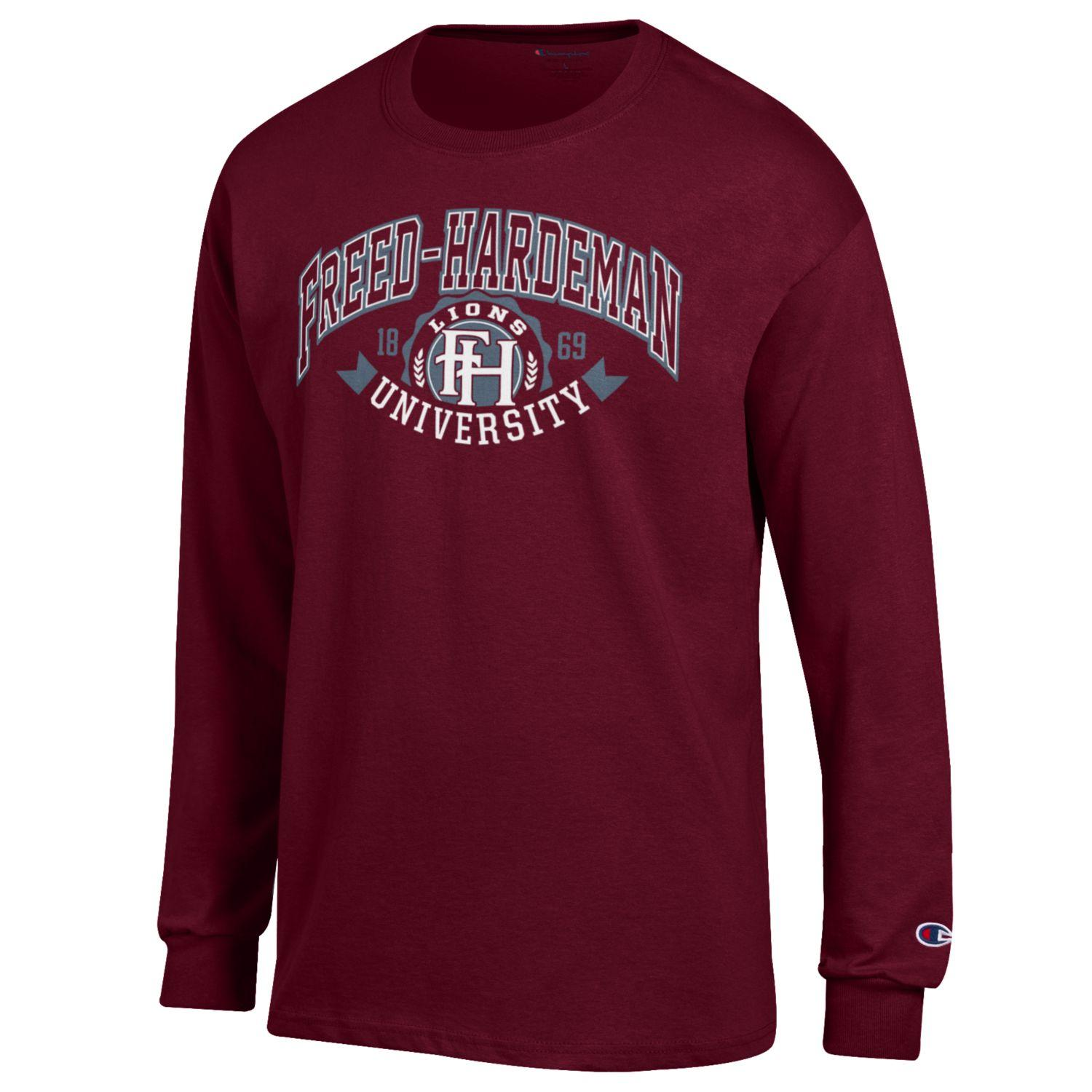 FH Lions Crest Long Sleeve Tee