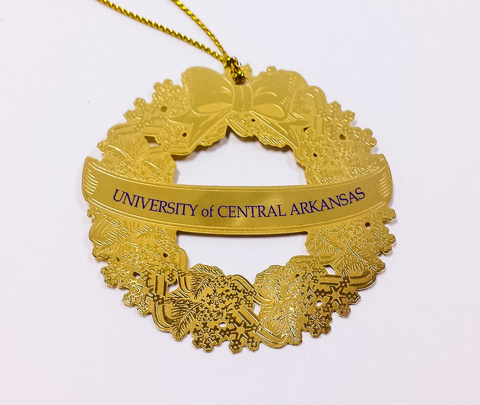 UCA Wreath Ornament