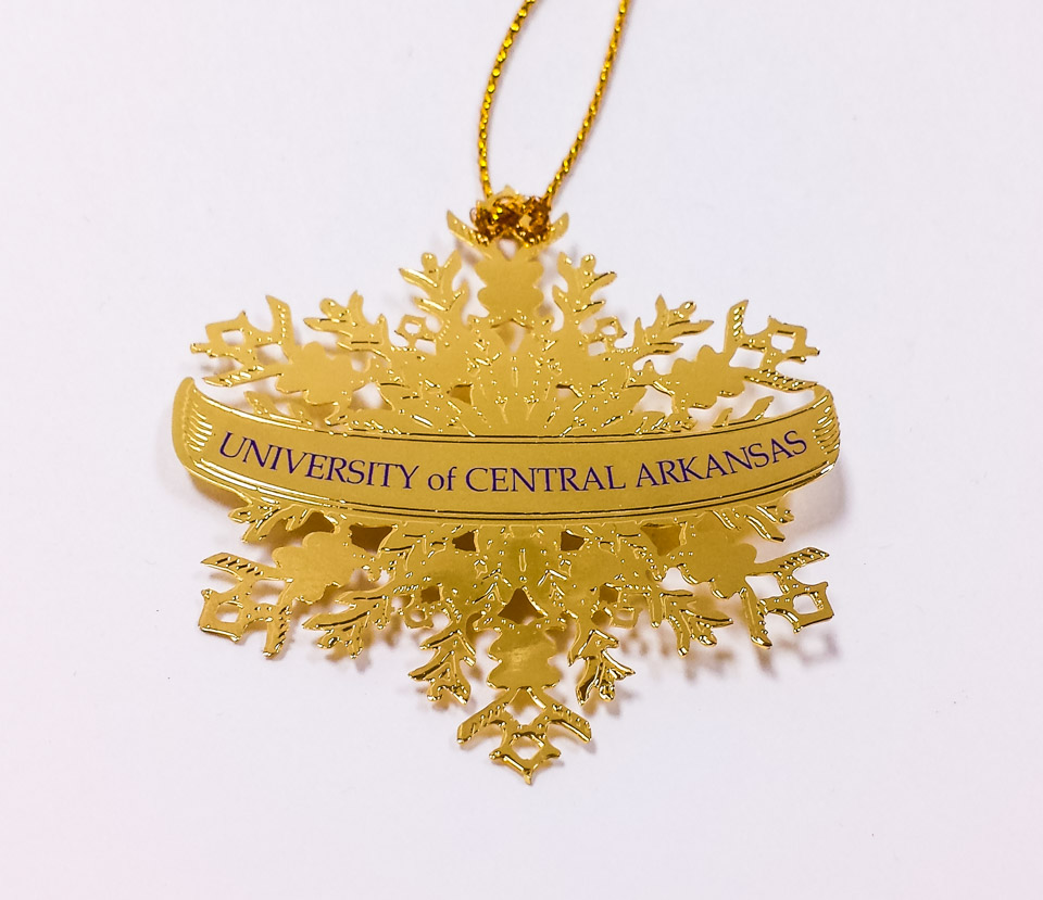 UCA Snowflake Ornament