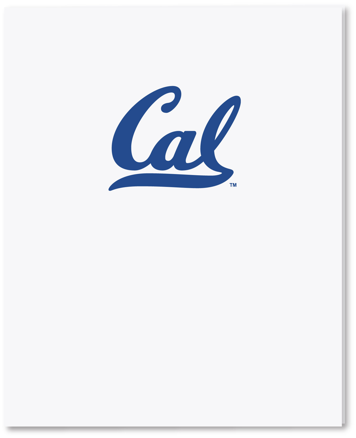 "University of California Berkeley Laminated Folders ""Cal"""