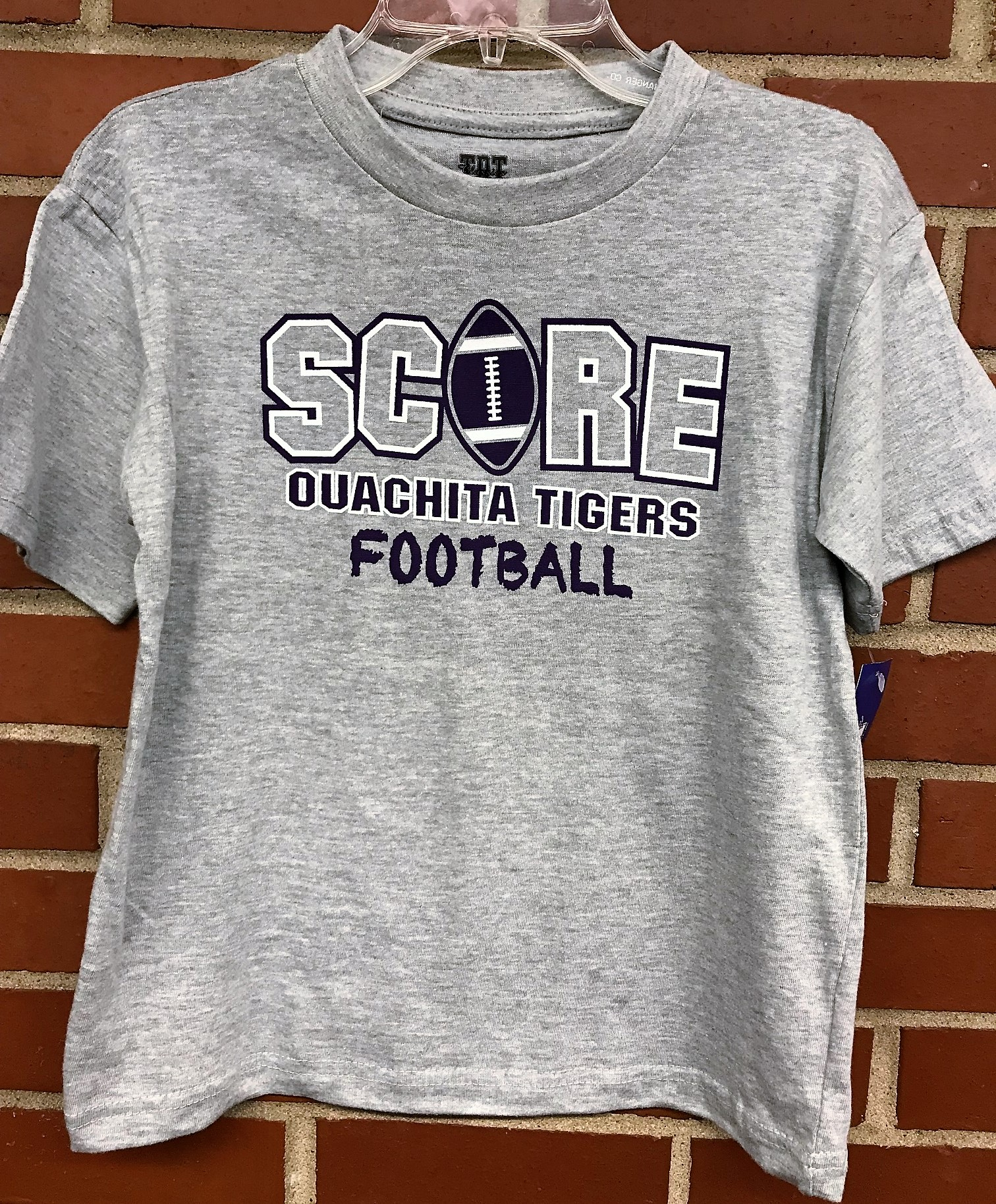 SCORE OUACHITA TIGERS FOOTBALL YOUTH TEE