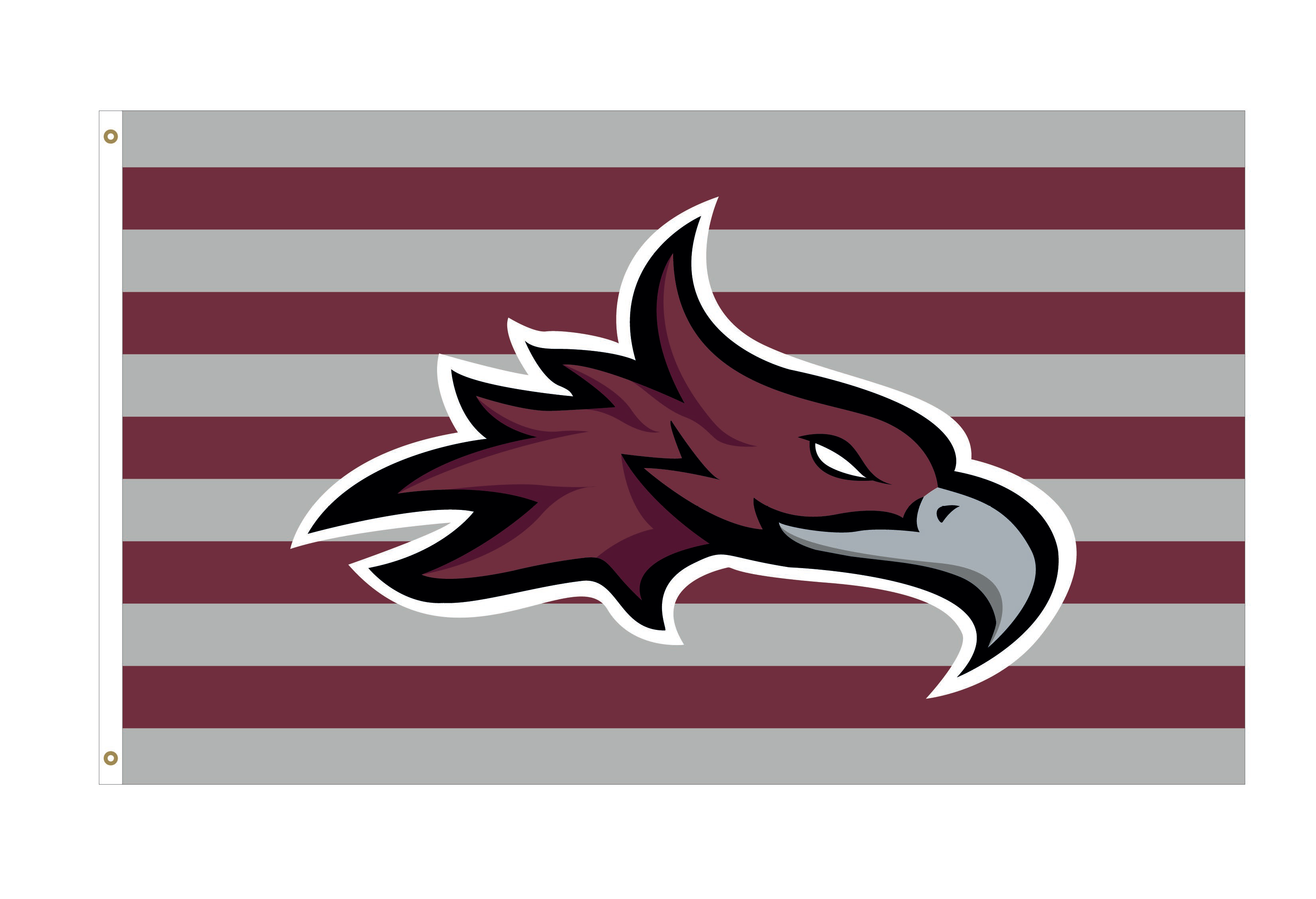 CU Phoenix Stripes Deluxe 3x5 Flag