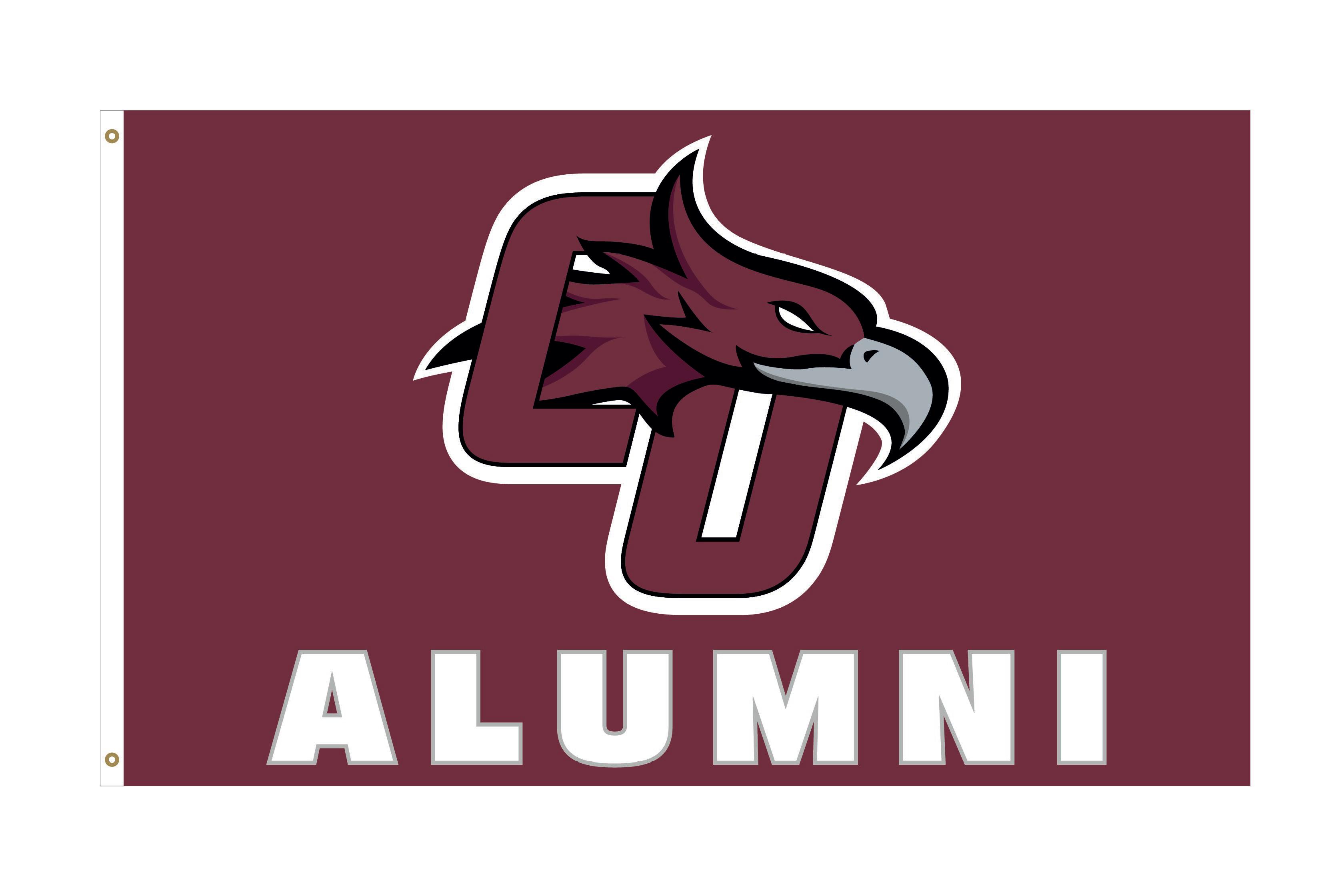 CU Phoenix Logo Alumni Deluxe 3x5 Flag