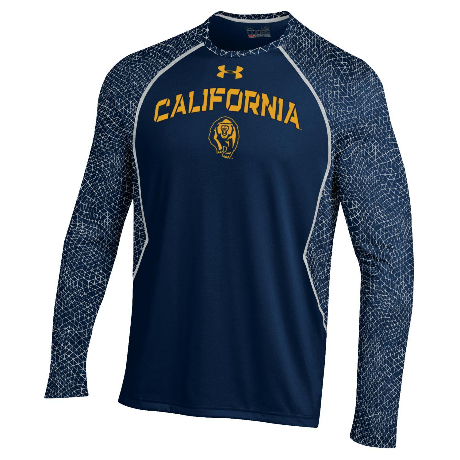 University of California Berkeley Under Armour Apex Print Tee
