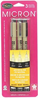 Micron 3 Style Pens