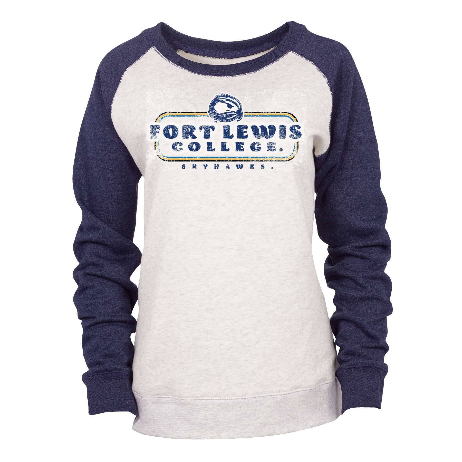 Ladies FLC Skyhawks Cozy Crewneck Sweatshirt