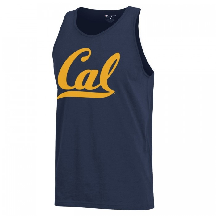 Men's Tank Champion Cal Logo