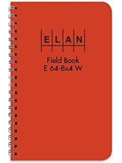 Elan Field Notebook Spiral Bound