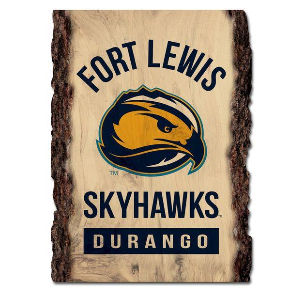 Fort Lewis Skyhawks Barky Sign