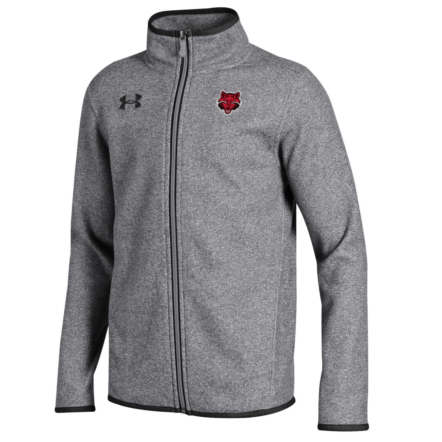 Red Wolves Youth Fleece Full Zip Jacket