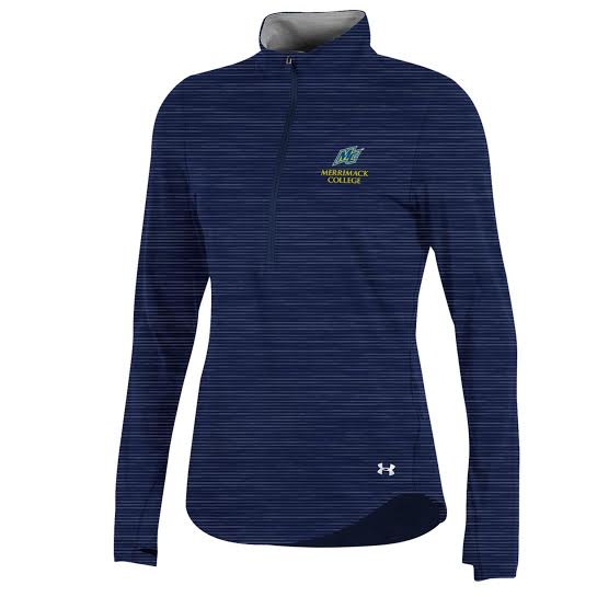 Navy Charged Cotton 1/2 Zip