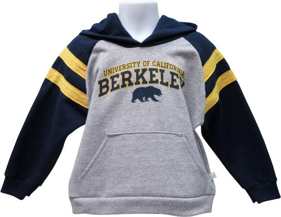 University of California Berkeley Toddler Cotton Rugby Fleece Hoodie