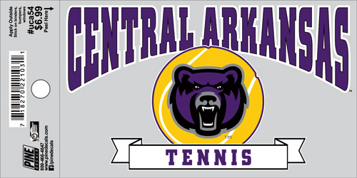 "3""x5"" Central Arkansas Tennis Decal"