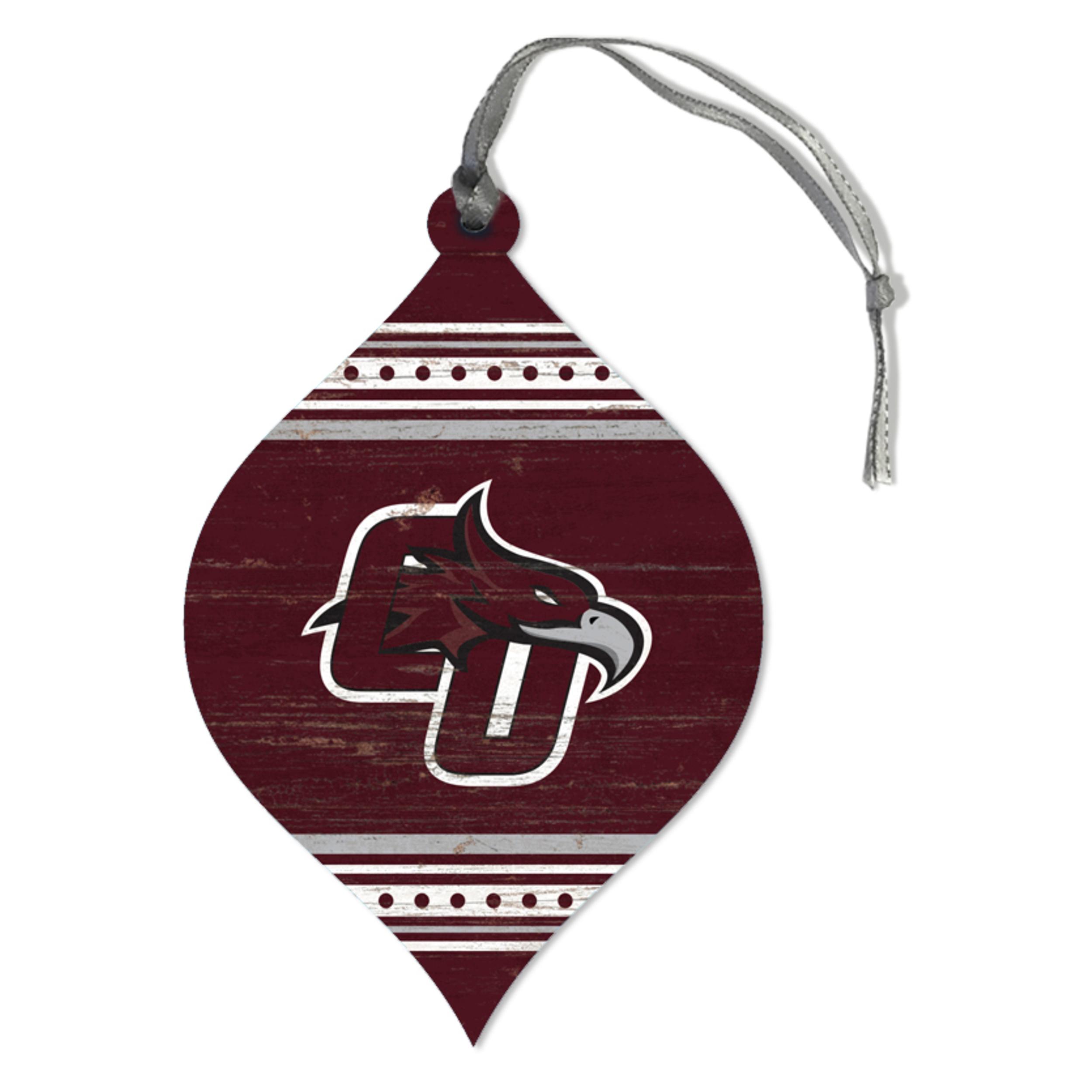 CU Phoenix Teardrop Ornament