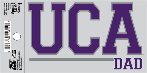 "3""x5"" UCA Dad Decal"