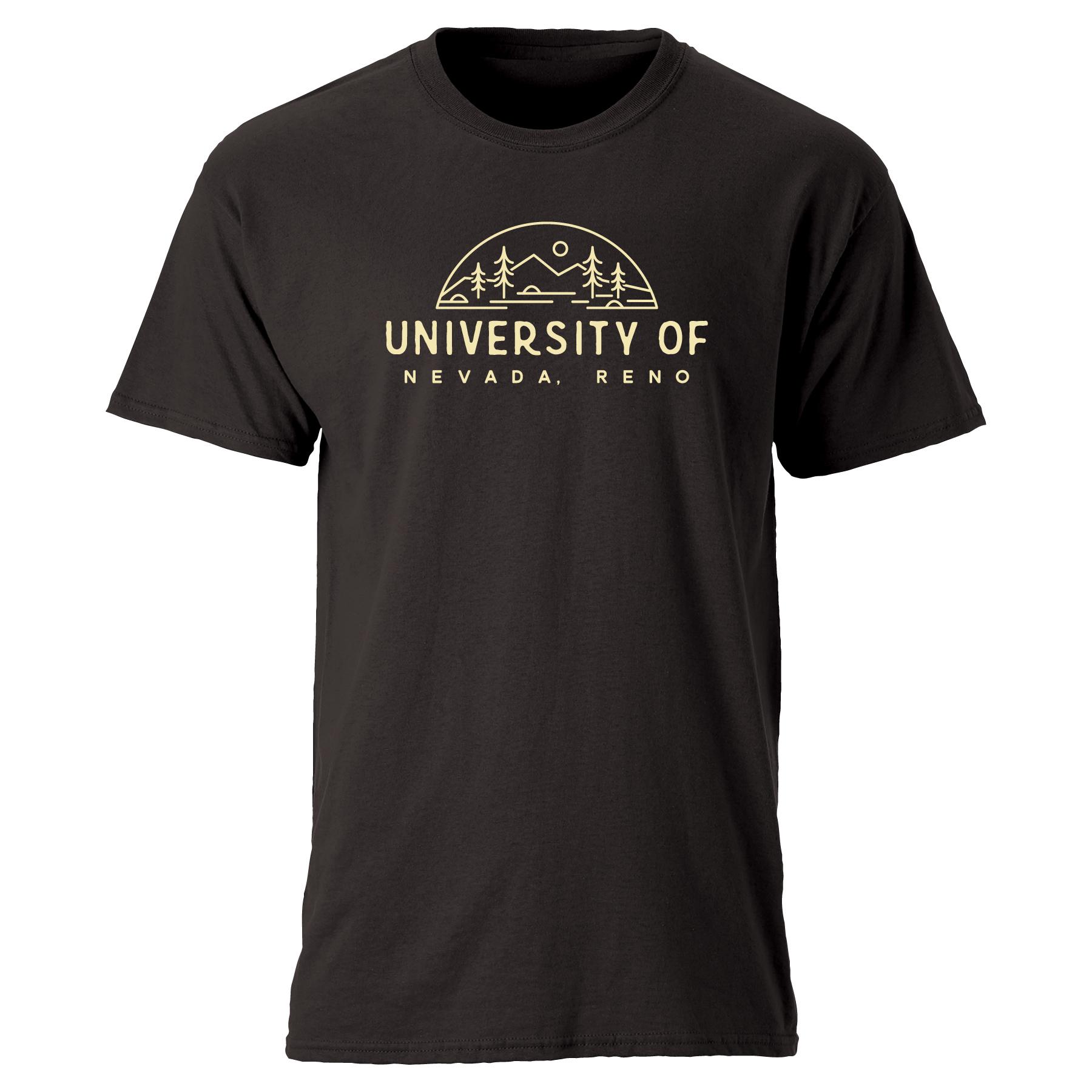 Black Shirt - Mountain Compass