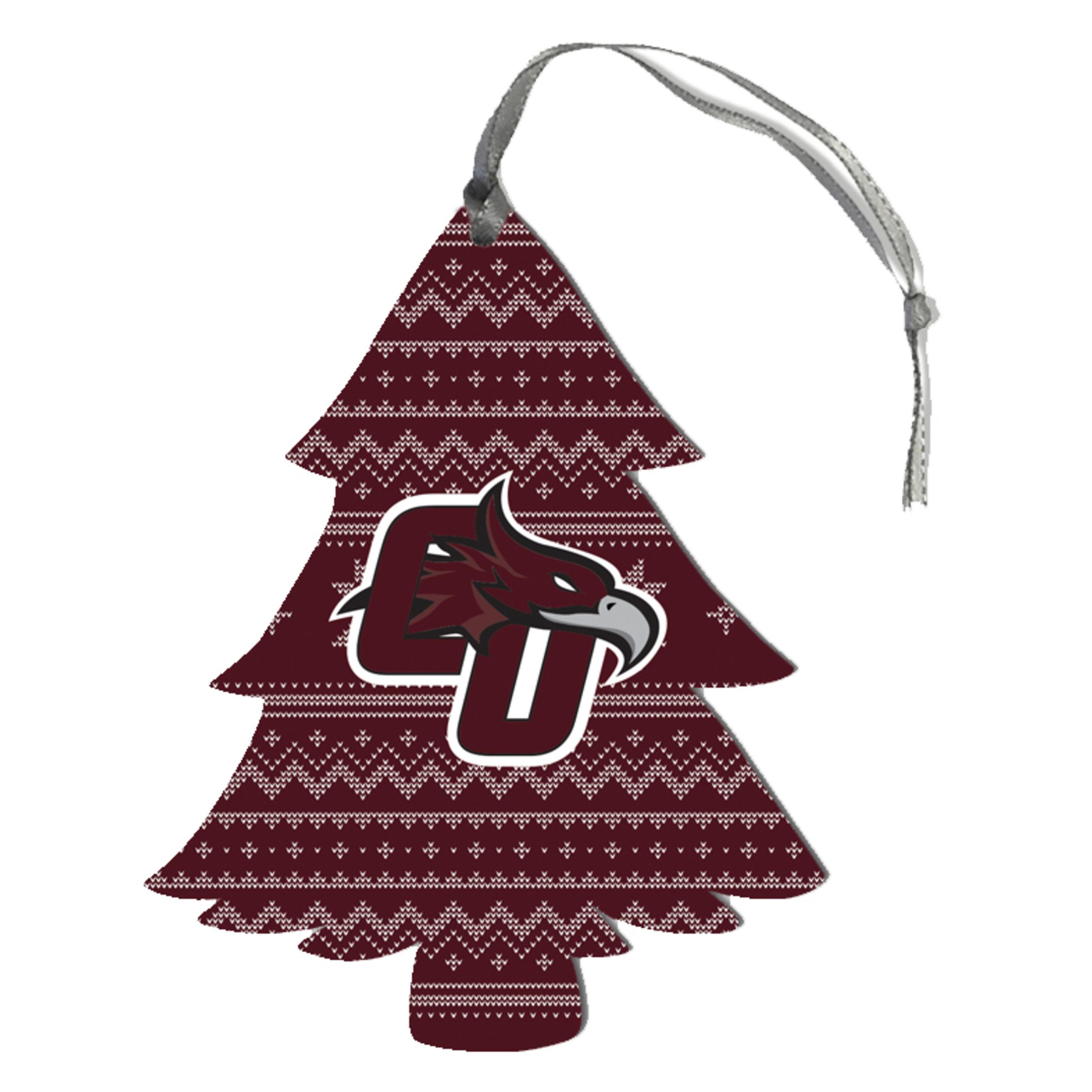 CU Phoenix Sweater Pattern Tree Ornament