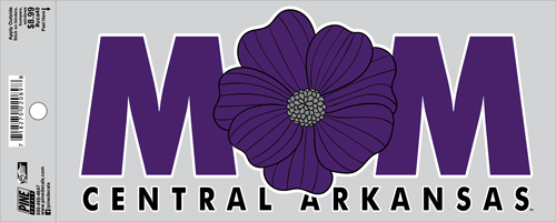"4""x9"" Mom Flower Decal"