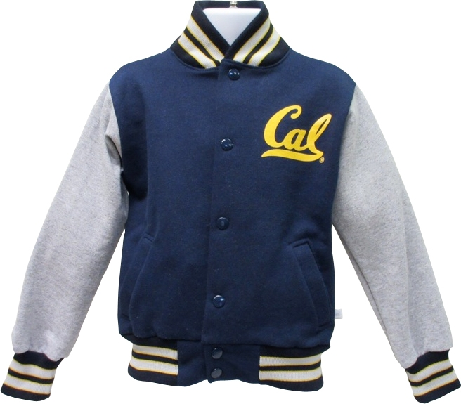 University of California Berkeley Toddler Letterman Jacket Cal Logo