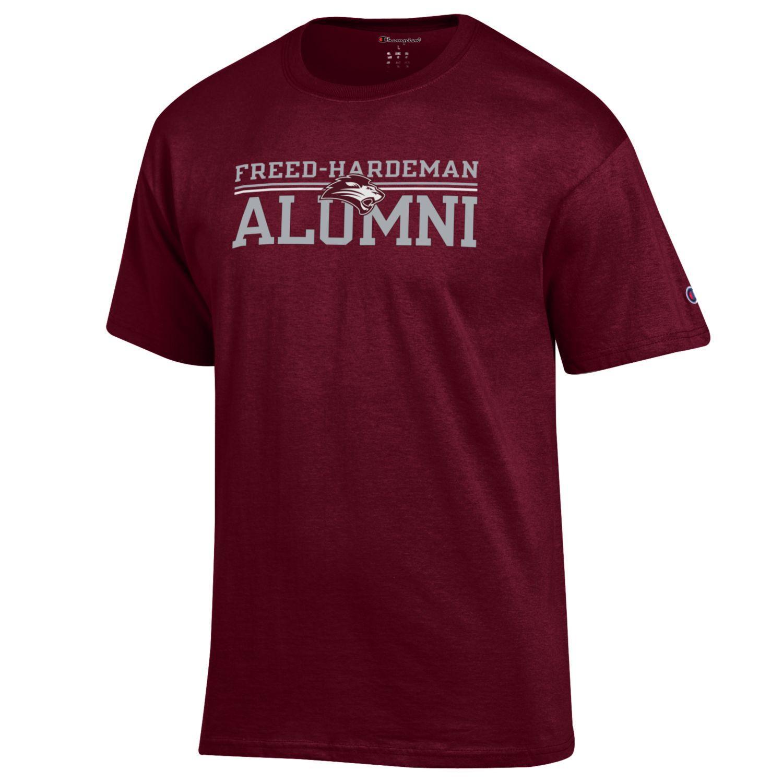 FHU Alumni Lion Logo T-shirt