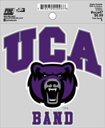 "4.5""x4.5"" UCA Band Decal"