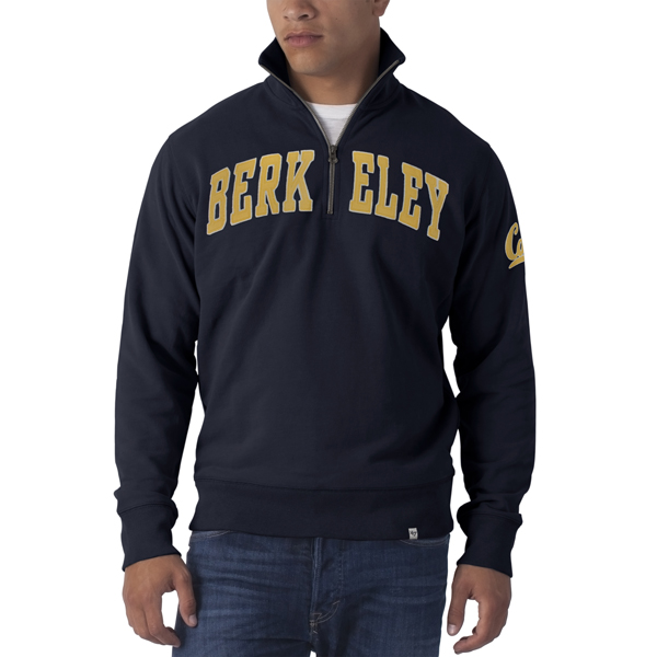 University of California Berkeley Men's 1/4 Zip Striker
